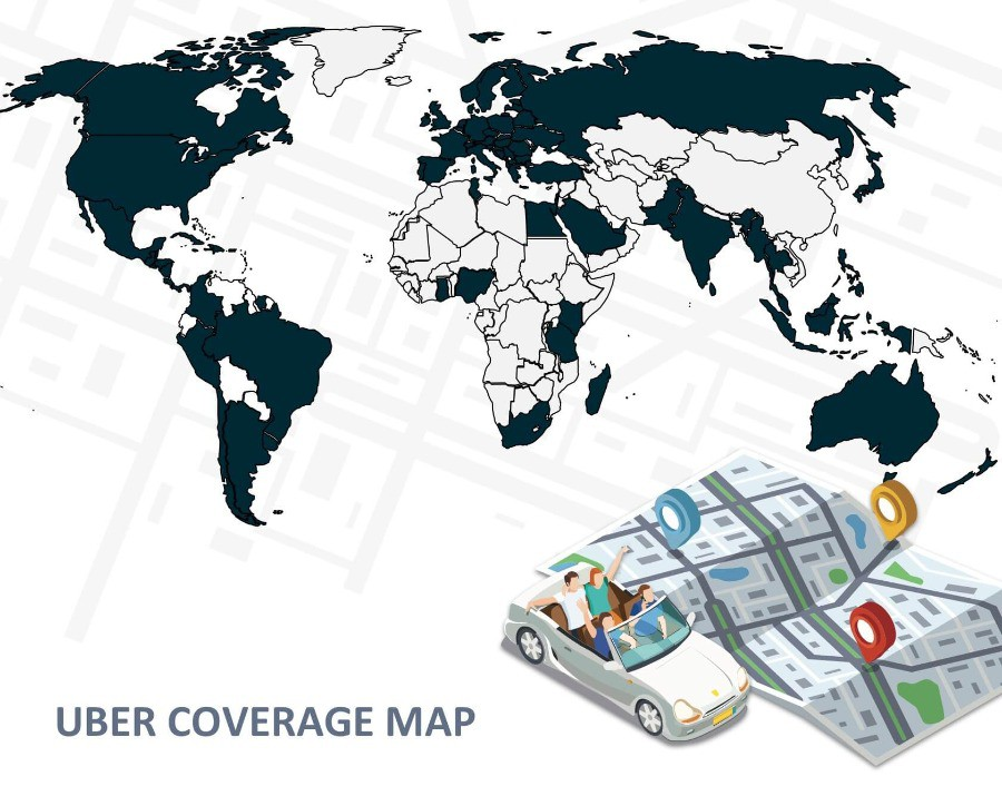 uber coverage map